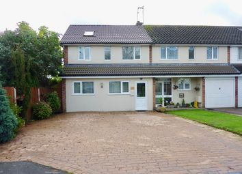 Thumbnail 4 bed terraced house for sale in Breeden Drive, Curdworth, Sutton Coldfield