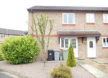Thumbnail 1 bed end terrace house for sale in The Brambles, Deeping St. James, Peterborough