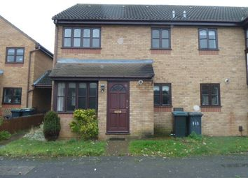 Thumbnail 1 bed semi-detached house to rent in Bunyan Road, Biggleswade
