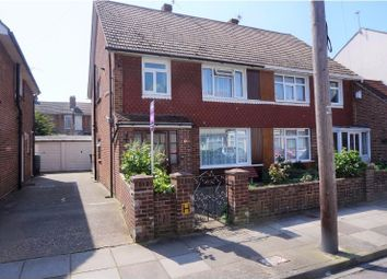 Thumbnail 3 bedroom semi-detached house for sale in Pretoria Road, Southsea