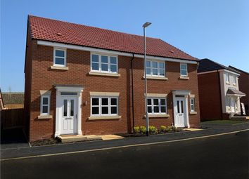 """Thumbnail 3 bed semi-detached house for sale in """"Malvern"""" at Spire View, Bottesford, Nottingham"""