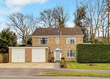 Thumbnail 4 bed detached house for sale in Normay Rise, Wash Common, Newbury