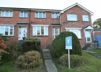 Thumbnail 3 bed terraced house to rent in Brookside Crescent, Wroxall, Ventnor