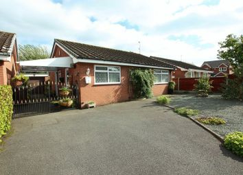 Thumbnail 3 bed detached bungalow for sale in Derwent Drive, Biddulph, Stoke-On-Trent