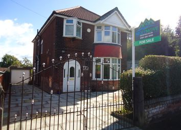 Thumbnail 4 bed detached house for sale in Middleton Road, Manchester