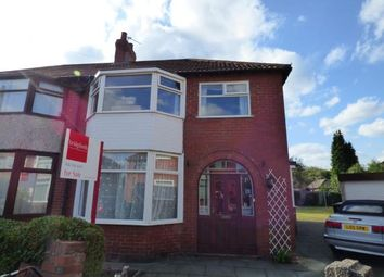 Thumbnail 4 bed semi-detached house for sale in Penmere Grove, Sale, Trafford, Greater Manchester