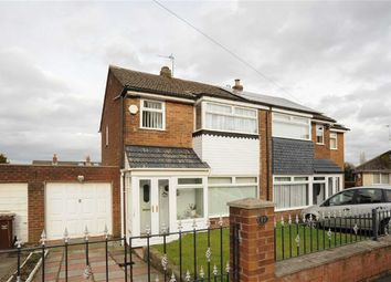Thumbnail 3 bedroom semi-detached house for sale in Wakefield Drive, Clifton, Swinton, Manchester