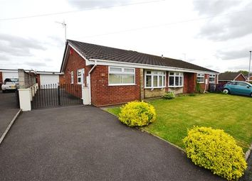 Thumbnail 2 bed semi-detached bungalow for sale in Ingelow Close, Blurton, Stoke On Trent