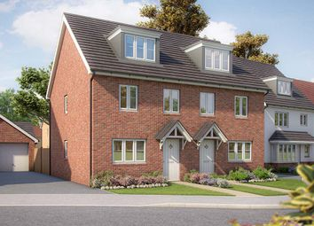 "Thumbnail 3 bed semi-detached house for sale in ""The Beech"" at Appleton Way, Shinfield, Reading"