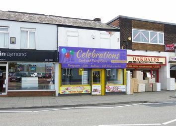 Thumbnail Commercial property for sale in Market Street, Droylsden, Manchester