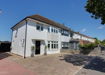 Thumbnail 3 bed semi-detached house for sale in Oaklands Avenue, Brookmans Park, Hatfield