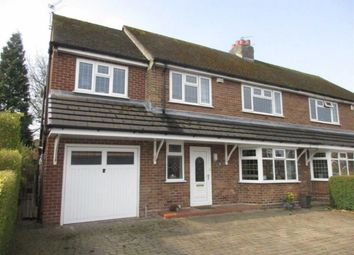 Thumbnail 4 bed semi-detached house for sale in Lime Grove, Lowton, Warrington