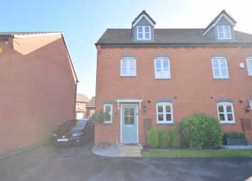 Thumbnail 4 bed semi-detached house for sale in Fellow Lands Way, Chellaston, Derby