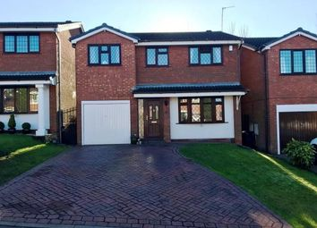 Thumbnail 4 bedroom detached house for sale in Harlech Way, Dudley, West Midlands