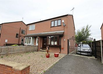 Thumbnail 2 bed semi-detached house to rent in Cherry Tree Grove, Chesterfield, Derbyshire