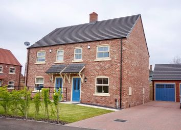 Thumbnail 3 bed semi-detached house for sale in Chapter Close, Lincoln