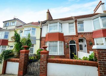 Thumbnail 3 bed terraced house for sale in Preston, Paignton, Devon