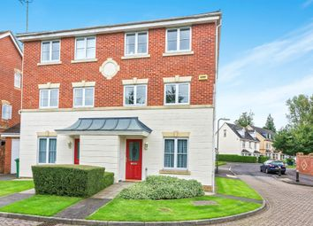 Thumbnail 4 bed town house for sale in Oceana Crescent, Beggarwood, Basingstoke