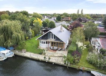 Thumbnail 4 bed detached house for sale in Pharaohs Island, Shepperton, Surrey