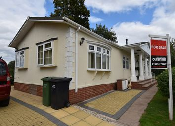 Thumbnail 3 bed mobile/park home for sale in Doverdale Park Homes, Hampton Lovett, Droitwich