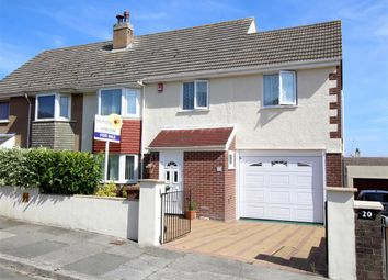 Thumbnail 3 bed semi-detached house for sale in Raynham Road, Plymouth