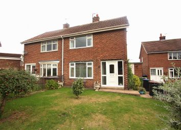 Thumbnail 2 bed semi-detached house for sale in Atkinson Gardens, Aycliffe, Newton Aycliffe