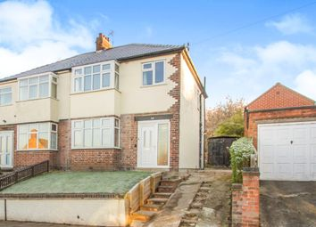 Thumbnail 3 bed semi-detached house for sale in Franklyn Road, Old Aylestone, Leicester