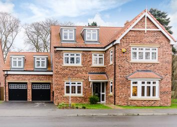 Thumbnail 5 bedroom detached house for sale in Cleminson Gardens, Cottingham, East Yorkshire