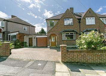 3 bed semi-detached house for sale in Churston Drive, Morden, Surrey SM4