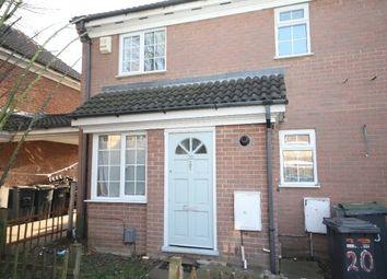 Thumbnail 1 bedroom terraced house to rent in Dorrington Close, Luton