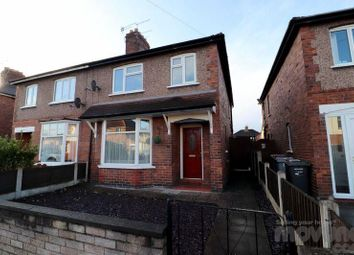 Thumbnail 3 bed semi-detached house for sale in Ernest Street, Crewe