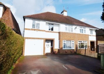 Thumbnail 5 bedroom semi-detached house for sale in Cobham Road, Fetcham, Leatherhead