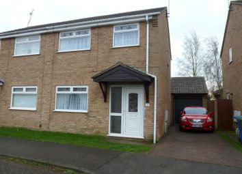 Thumbnail 3 bedroom semi-detached house to rent in Hobart Way, Oulton, Lowestoft