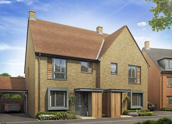 """Thumbnail 3 bed semi-detached house for sale in """"Linton"""" at Repton Avenue, Ashford"""