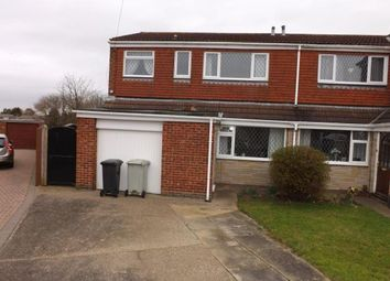 Thumbnail 3 bed semi-detached house for sale in South View, Holton-Le-Clay, Grimsby