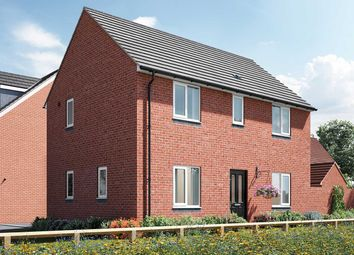 """Thumbnail 3 bed end terrace house for sale in """"The Mountford"""" at Arlesey Road, Stotfold, Hitchin"""