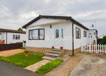 Thumbnail 3 bedroom mobile/park home for sale in Thorney Road, Eye, Peterborough