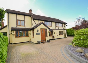 Thumbnail 4 bed detached house for sale in Smithy Lane, Much Hoole, Preston