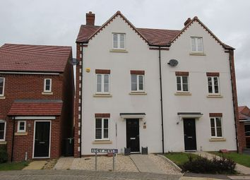 Thumbnail 4 bed mews house for sale in Ashby Mews, Daventry, Northamptonshire