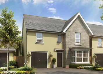 "Thumbnail 4 bedroom detached house for sale in ""Somerton"" at Tiverton Road, Cullompton"