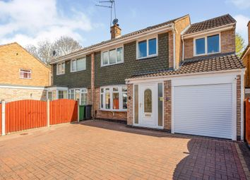 Thumbnail 4 bed semi-detached house for sale in Ansley Close, Redditch