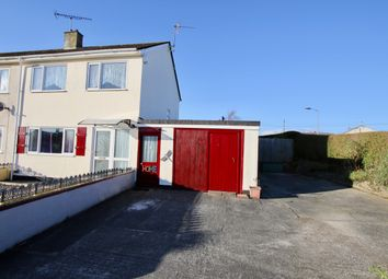 Thumbnail 3 bed semi-detached house for sale in Fairfield Close, St Austell