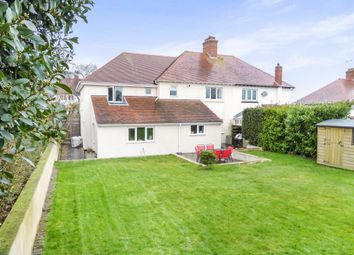 Thumbnail 5 bed semi-detached house for sale in Staunton Road, Alcombe, Minehead
