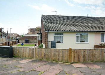 Thumbnail 2 bed semi-detached bungalow for sale in Ham Close, Worthing, West Sussex