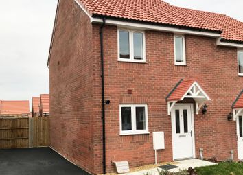 Thumbnail 2 bedroom semi-detached house for sale in Rutherford Close, Wiltshire
