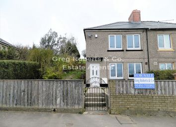 Thumbnail 2 bed semi-detached house for sale in Orchard Street, Phillipstown, New Tredegar, Caerphilly County.