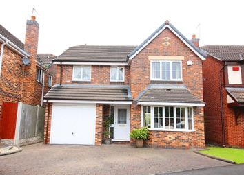Thumbnail 4 bed detached house for sale in Claydon Court, Halewood, Liverpool