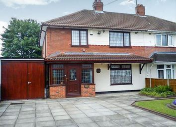 Thumbnail 3 bed semi-detached house for sale in Stanley Road, Darlaston, Wednesbury