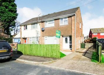 Thumbnail 3 bed semi-detached house for sale in St. Julian Close, Barry