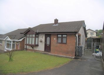 Thumbnail 2 bed semi-detached bungalow to rent in Mackworth Drive, Cimla, Neath